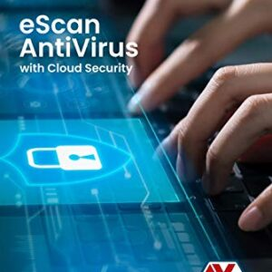 eScan Antivirus 1 User 3 Year with Cloud Security