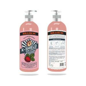 Killer Hand Sanitizer Strawberry